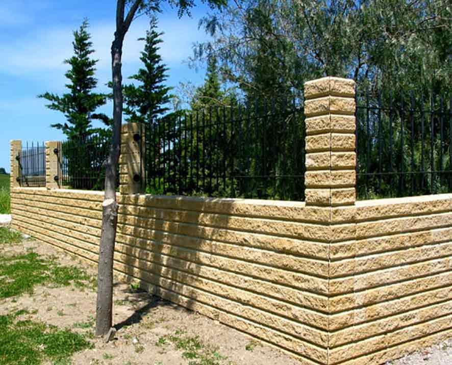 Blocchi per recinzioni