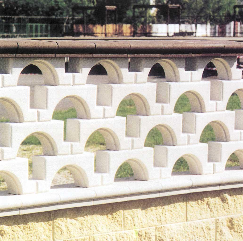 Paviblok recinzioni for Disegni di blocchi di cemento casa